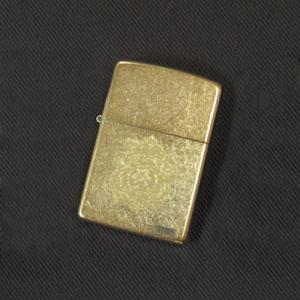 オリジナルZIPPO 王冠中 真鍮